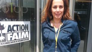 Peggy Pascal, chargée du plaidoyer sécurité alimentaire pour l'ONG Action Contre la Faim.