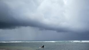 Ảnh minh họa: Bão nhiệt đới Dorian sắp ập vào Puerto Rico ngày 28/08/2019.