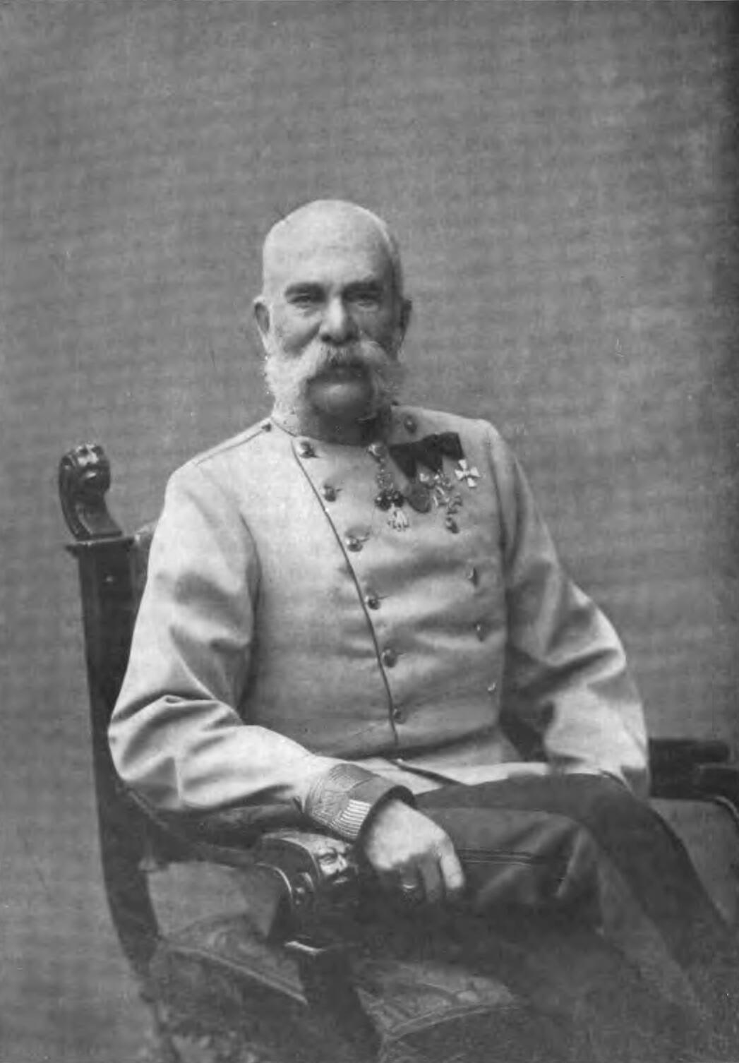 Hoàng đế Áo Franz Joseph.