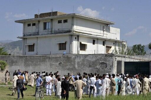 Casa onde Osama Bin Laden foi morto foi destruída pelas autoridades paquistanesas em 2012.