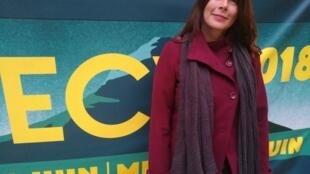 """""""Tenho 20 ou 30 anos de carreira, e apenas há alguns anos consegui juntar coragem para ter voz num filme"""", diz Rosana Urbes, vencedora do prêmio principal de Annecy em 2015."""