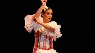 """""""Sorda, flamenco puro en lengua de signos"""", espectáculo de La Niña de los cupones."""