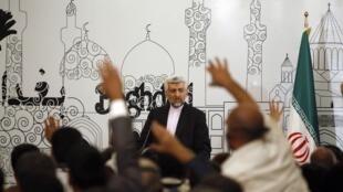 کنفرانس مطبوعاتی سعید جلیلی در بغداد