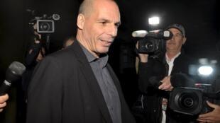 O ministro das Finanças da Grécia, Yanis Varoufakis.