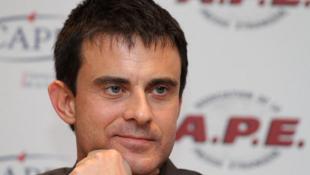 Le socialiste Manuel Valls.