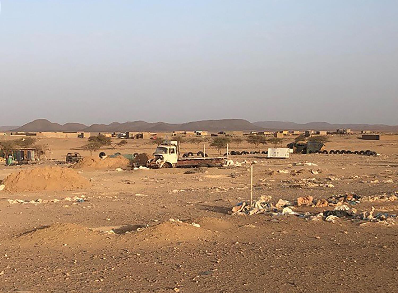 Le village de Talhandak, à environ 80 km au nord-ouest de Tessalit, dans le nord du Mali, où le chef d'Al-Qaïda au Maghreb islamique Abdelmalek Droukdel aurait été tué par les forces françaises le 4 juin 2020.