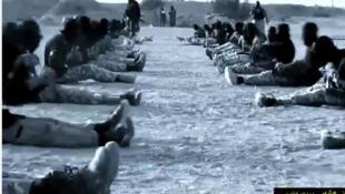 Sur YouTube, une vidéo de l'Etat islamique en Irak et au Levant vante un camp d'entraînement au jihad © Youtube / Capture d'écran