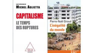 «Capitalisme, le temps des ruptures», de Michel Aglietta et «L'inégalité du monde» de Pierre-Noël Giraud.