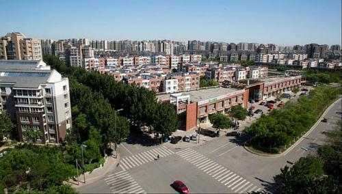 Những khu nhà mới xây tại thành phố Hoa Minh, Trung Quốc