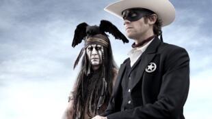 Lone Ranger, avec Johnny Depp.