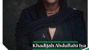 Khadija Abdullahi Iya 'yar takarar mataimakiyar shugaban kasa a Najeriya karkashin Jam'iyyar ANN.