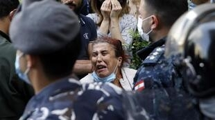 Desde octubre de 2019, las manifestaciones se multiplican en Líbano ante la inacción del Estado. Beirut, mayo de 2020.