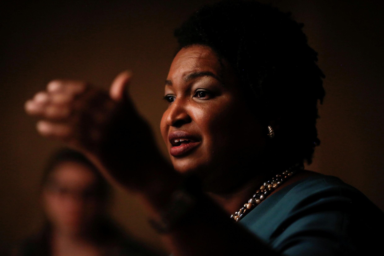 Stacey Abrams est candidate démocrate au poste de gouverneur de Géorgie pour les élections de mi-mandat aux Etats-Unis.