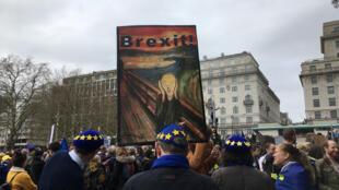 Protesto deste sábado (23) em Londres pode bater o recorde de participantes.