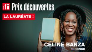 Céline Banza, winner of Prix Découvertes RFI 2019.