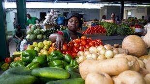 Mercado de Maputo. 11 de Janeiro de 2014.