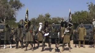 Wasu mayakan Boko Haram.