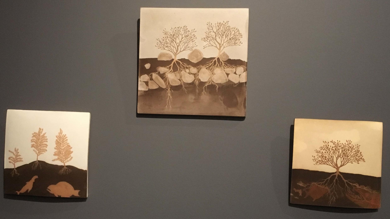 """آثار Clément Richem  در نمایشگاه """"زمین"""""""