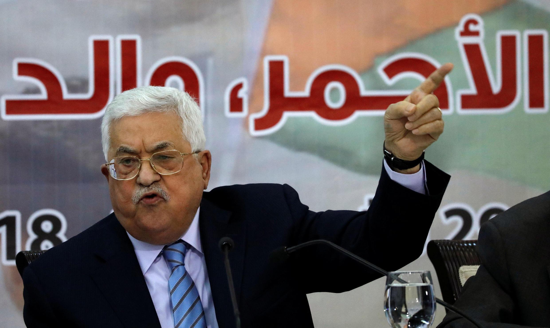 Image d'archive: Mahmoud Abbas s'engage à appliquer immédiatement la décision de la cour constitutionnelle sur la dissolution du Conseil législatif palestinien. c'est une attaque en règle qui vise à ôter toute légitimité au Hamas. le 22.12.2018