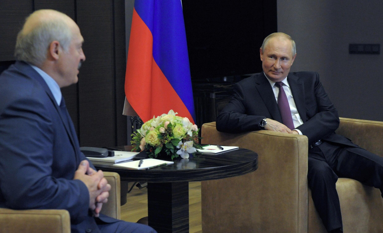 Президенты России и Беларуси на встрече в Сочи