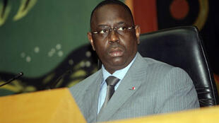 Macky Sall. Photo prise lorsqu'il était encore président de l'Assemblée nationale, le 8 avril 2008.