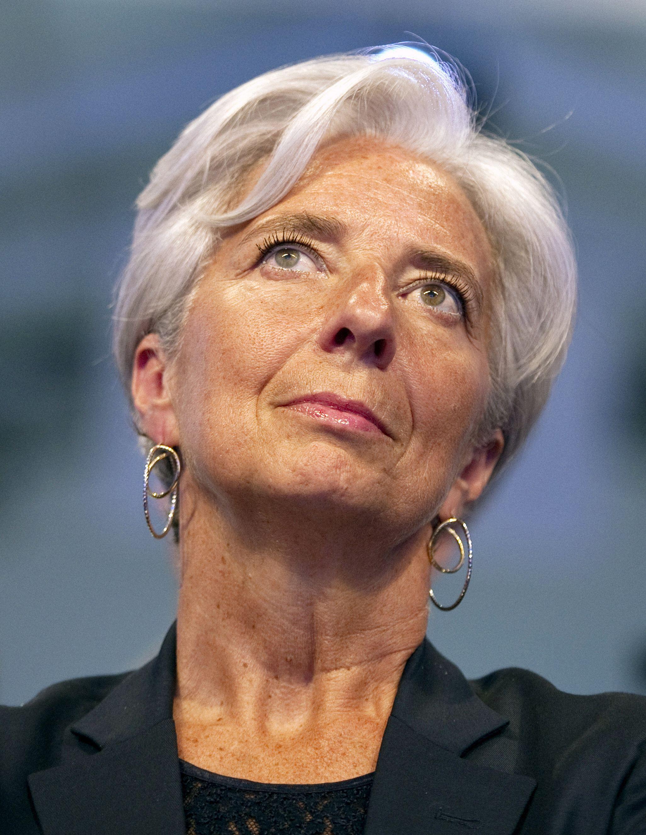 La ministre française de l'Economie et des Finances, Christine Lagarde.