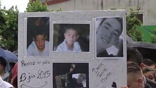 Os três adolescentes que morreram na explosão durante fabricação caseira de explosivos em Bas-en-Basset, na região da Haute Loire, centro da França.