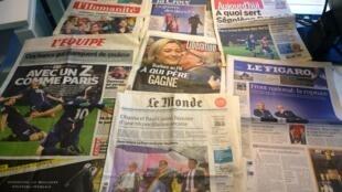 Diários franceses 09/04/2015