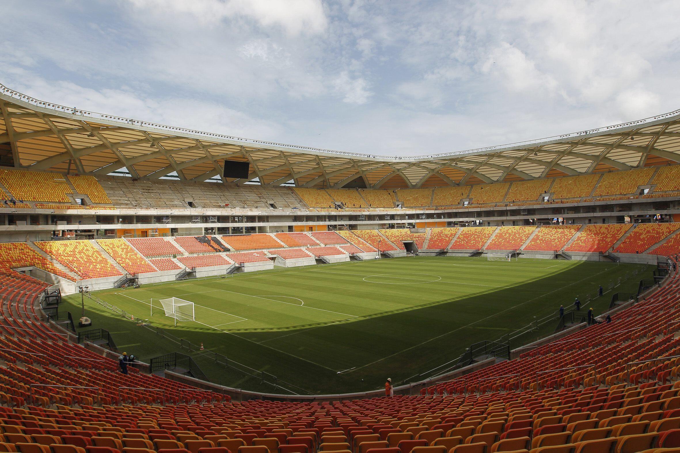 Le stade Arena da Amazonia de Manaus.