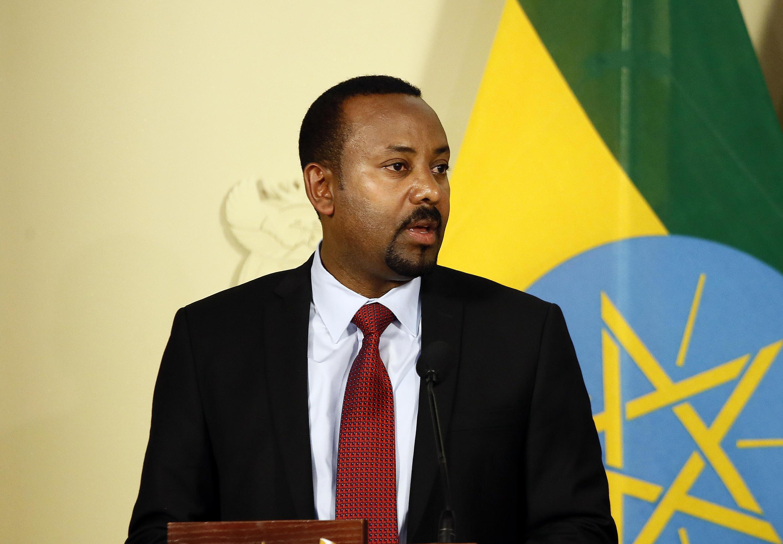Abiy Ahmed , Primeiro-ministro  da  Etiópia