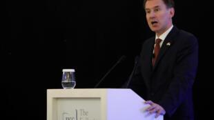 O ministro das Relações Exteriores do Reino Unido, Jeremy Hunt, disse que o Brexit pode não acontecer se o acordo de separação da União Europeia for rejeitado no Parlamento.