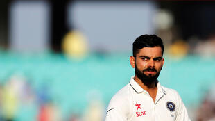 Virat Kohli's side came under pressure during their second innings in the first Test against England.