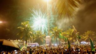 Eleitores de Bolsonaro tomaram as ruas de várias cidades do país, principalmente no Rio de Janeiro, após o anúncio do resultado das eleições