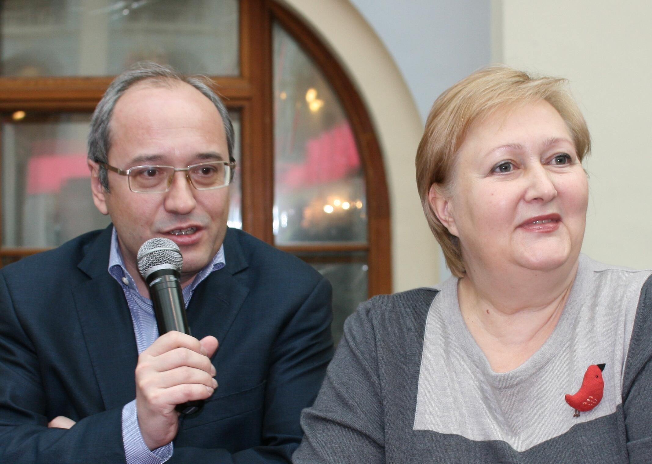 Ольга и Павел Сюткины, историки русской и советской кулинарии