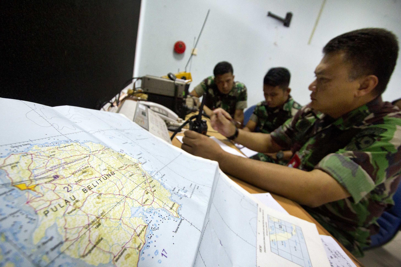 Операция по поиску пропавшего лайнера AirAsia продолжились, Джакарта, 29 декабря 2014 г.