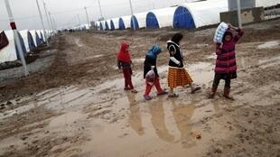 Khazir camp, near the Iraqi city of Mosul, welcomes hundreds of displaced children