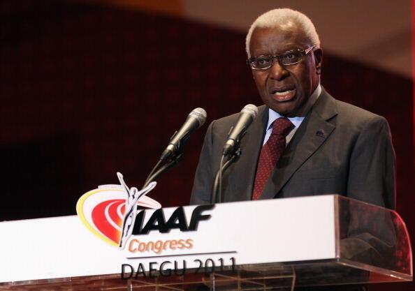 Lamine Diack Shugaban Hukumar kula da wasanni Guje Guje ta IAAF