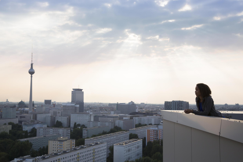 Vue de Berlin.