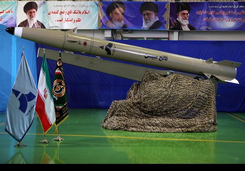 موشکی که ایران ادعا میکند به تازگی ساخته است