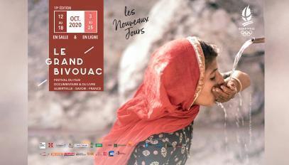 Affiche du Grand Bivouac, édition 2020.