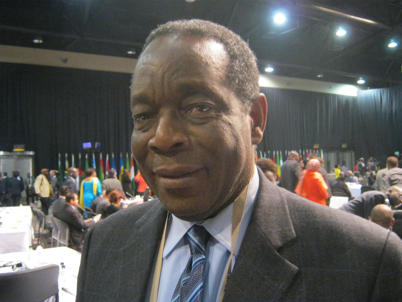 Francisco Caétano José Madeira, ici en 2011, lors d'un sommet de l'Union africaine.