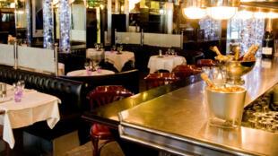 La brasserie du Lutetia à Paris.