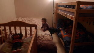 Lily shares a bedroom with her two brothers and mother. Her family's been waiting to be re-housed for 11 years. They're due to be evicted March 15th.