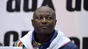 Eddie Komboïgo, 47 ans, candidat à la présidentielle burkinabè.