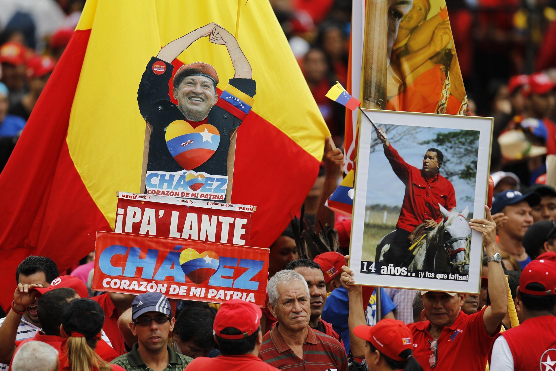 Dubban Masoyan Hugo Chavez à birnin Caracas