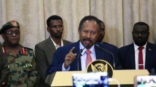 Le Premier ministre Abdalla Hamdok a été investi le 21 août à Khartoum, au Soudan.