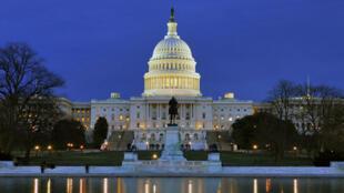 Capitol Hill tại Washington, trụ sở Quốc hội Hoa Kỳ, nơi đang diễn ra cuộc tranh cãi gay gắt về ngân sách.