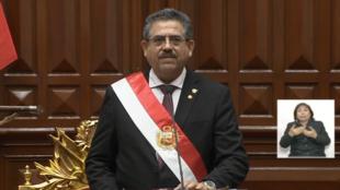 Manuel Merino assume a presidência do Peru nesta terça-feira (10), após o impeachment de Martín Vizcarra