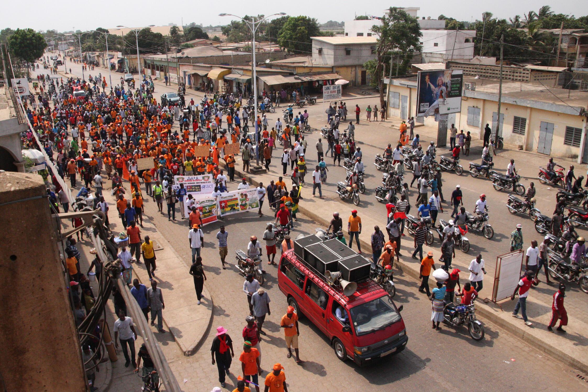 Zanga-zangar Togo