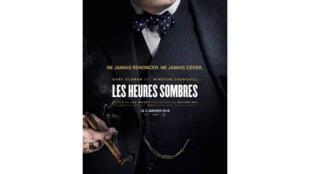 L'affiche du film «Les heures sombres». Gary Oldman y incarne le Premier ministre Winston Churchill.